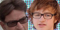 Charlie Sheen -- Angus T. Jones Is Acting Cult-ish ... &#039;Two and a Half Men&#039; is Cursed