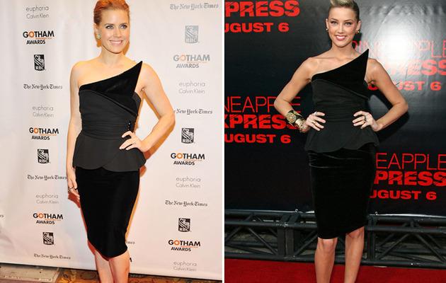 Dueling Dresses: Amy Adams vs. Amber Heard!
