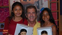 Mel Gibson Dolls Up Little Girls ... For Charity