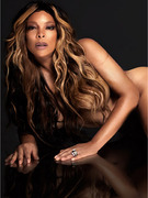 Wendy Williams Strips for Nude PETA Ad