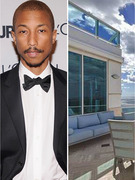 Pharrell's Massive Miami Penthouse For Sale!