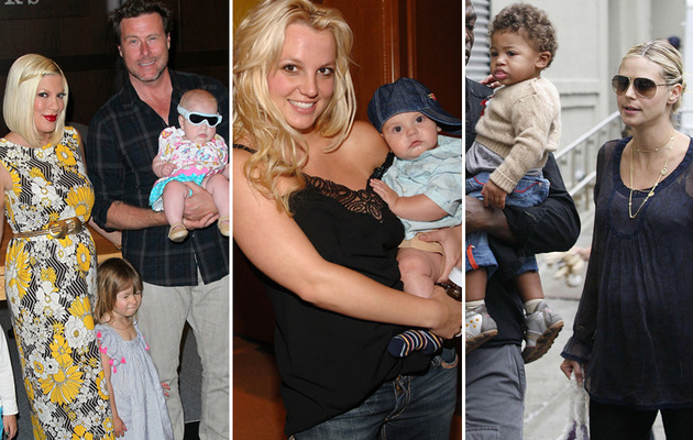 Jessica Simpson Pregnancy -- Other Celebs with Back to Back Babies