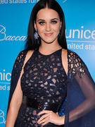 Katy Perry Goes Goth at SnowFlake Ball!