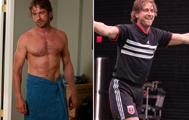 How Shirtless Gerard Butler Stacks Up Against Real Life Soccer Studs