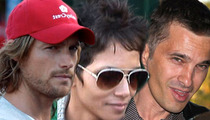 Halle Berry, Gabriel Aubry, and Olivier Martinez -- Peace Settlement Announced