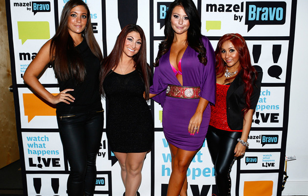 """Jersey Shore"" Stars Test Their Smarts ... And Fail!"