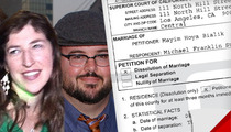 Mayim Bialik Officially Files for Divorce