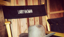 """Dallas"" Stars Pay Tribute to Larry Hagman On Set"