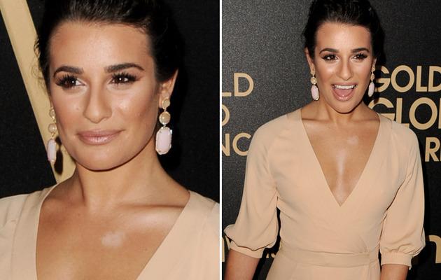 Lea Michele Makes Bad Makeup Move!