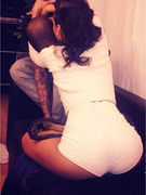 "Rihanna Straddles Chris Brown, Calls Him ""Baby"""