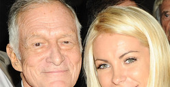 Hugh Hefner and Crystal Harris -- Married!! For Real This Time
