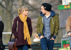 Taylor Swift and Harry Styles -- FULL-ON CANOODLING!