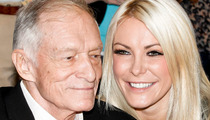 Hugh Hefner & Crystal Harris -- We Got Our Marriage License!