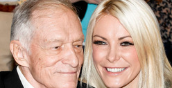 Hugh Hefner &amp; Crystal Harris -- We Got Our Marriage License!