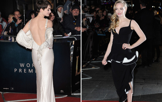 "Stars Show Skin at ""Les Miserables"" Premiere!"