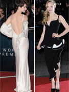 "Stars Show Skin at ""Les Miserables"" Premiere!"