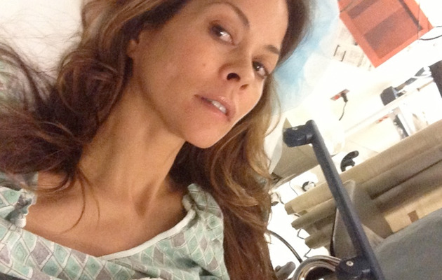 Brooke Burke Post-Thyroid Surgery: Feels Like I Got Hit By a Car!