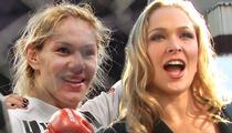 Cris 'Cyborg' Santos -- Ronda Rousey's Too Scared to Fight Me