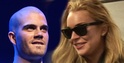Max George -- I&#039;m NOT Dating Lindsay Lohan ... And Didn&#039;t Invite Her Backstage