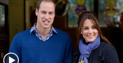 Prince William and Kate Middleton -- Our Fetus is SWAGGED OUT