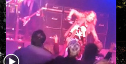 Vince Neil Tries to PUNCH FAN IN THE FACE ... and Misses
