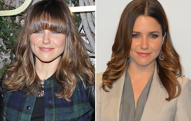 Sophia Bush Debuts New Bangs!