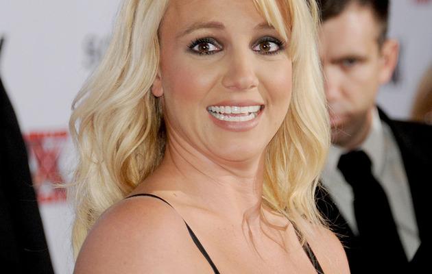"Britney Spears: Overwhelmed at Big ""X Factor"" Bash"