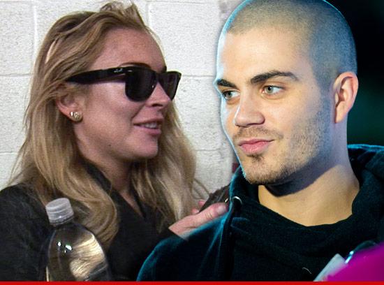 Lindsay Lohan -- Max George Pursued ME ... And I'm Lovin ...