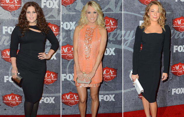 LeAnn, Carrie, Hillary! See all the American Country Awards Fashions!