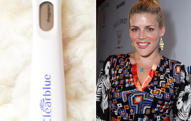 Busy Philipps Posts Pregnancy Test -- And It's Positive!