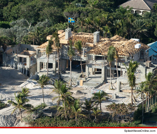 Elin Nordegren's New Mansion