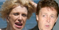 Courtney Love -- &#039;Not Amused&#039; by Sir Paul McCartney Jamming With Nirvana