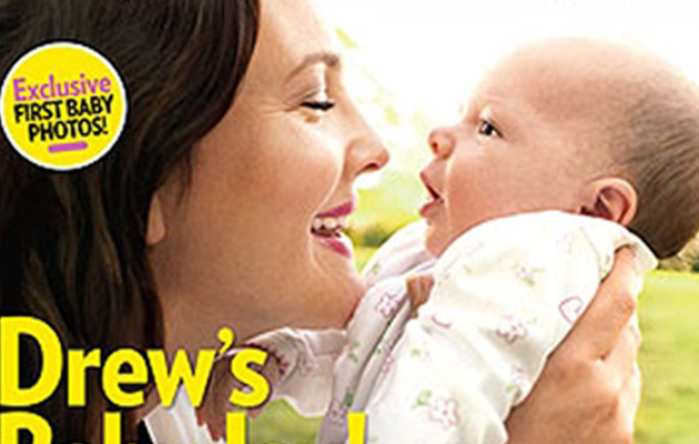 First Look: Drew Barrymore's Baby Girl!