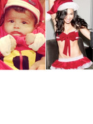 Babies, Babes &amp; More -- Celebrity Holiday TwitPics