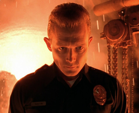 "Robert Patrick is best known for playing the advanced prototype terminator T-1000 in the 1991 sci-fi thriller ""Terminator 2: Judgment Day."""