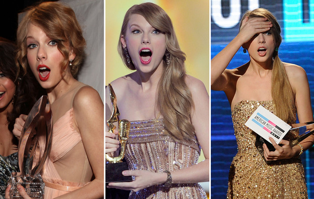 "Taylor Swift Turns 23 – See Her Many ""OMG"" Faces!"