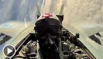 The Miz Obliterates The Sound Barrier ... In a FIGHTER JET