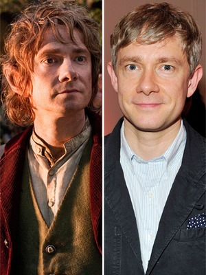 &quot;The Hobbit&quot; Cast: With and Without Makeup!