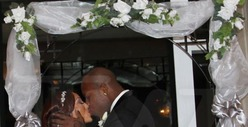 Terrell Suggs -- Small Wedding Now, BIG Wedding After the Season