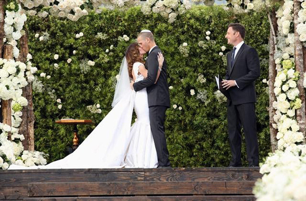 Video: See J.P. Rosenbaum's Emotional Wedding Vows for Ashley Hebert