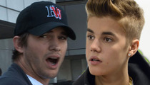 Ashton Kutcher & Justin Bieber -- Cops Make Arrest in SWATTING Pranks