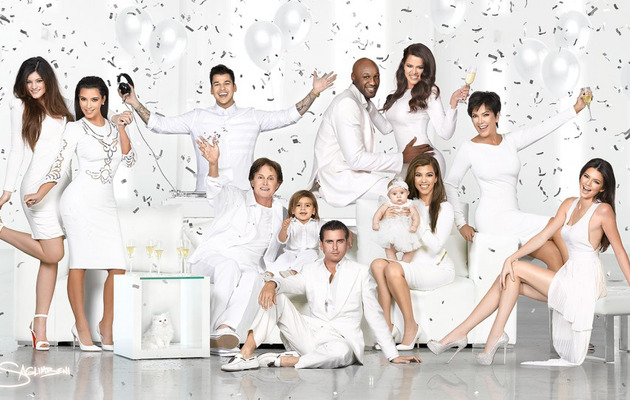 The Kardashian Christmas Card Is Here -- But Where's Kanye?