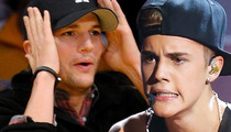 Justin Bieber, Ashton Kutcher SWATTER -- 12 YEARS OLD!!!