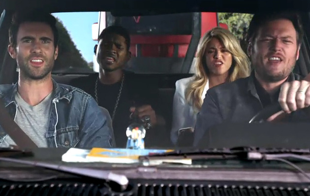 "Shakira & Usher Star In New Promo for ""The Voice"""