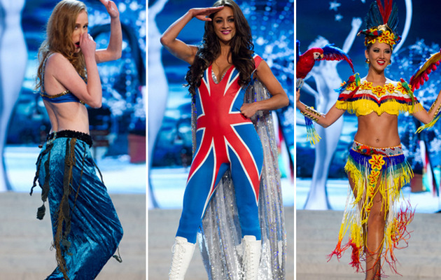 The Craziest National Costumes from Miss Universe!