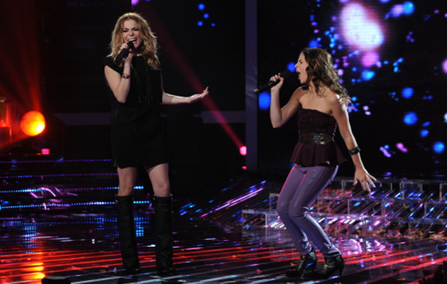 "LeAnn Rimes Delivers Wobbly Performance on ""The X Factor"""