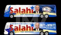 Tareq Salahi -- Campaigning for Governor on Barack Obama's Dubs