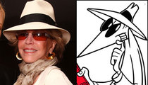Jane Fonda vs. Spy?