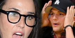 Demi Moore and Ashton Kutcher Divorce -- Big Hang Up Is Money