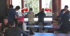 Taylor Swift &amp; Harry Styles -- Put Their Relationship On Ice [Photos] 